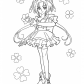 Beauty girl from Pretty cure