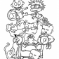 Rugrats kids, Rugrats cartoon