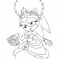 Sonia Princess from Sonic
