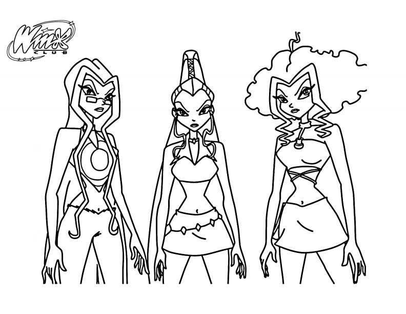 winx trix coloring pages | Of The Winx Club Trix Coloring Pages Coloring Pages