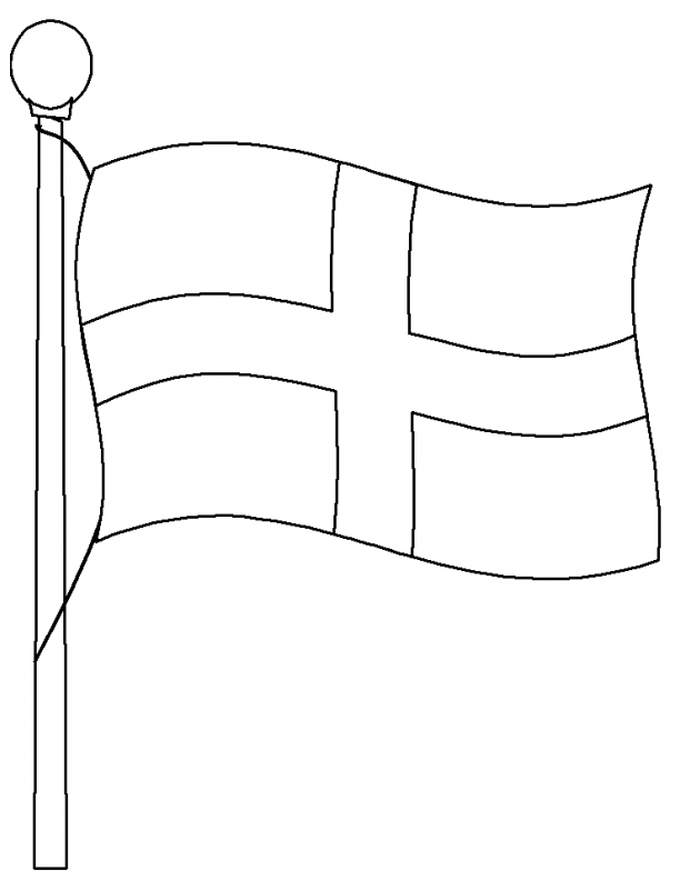 england flag coloring map coloring pages