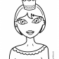 Nice Princesse Coloring pages for girls