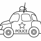 Police car transportation